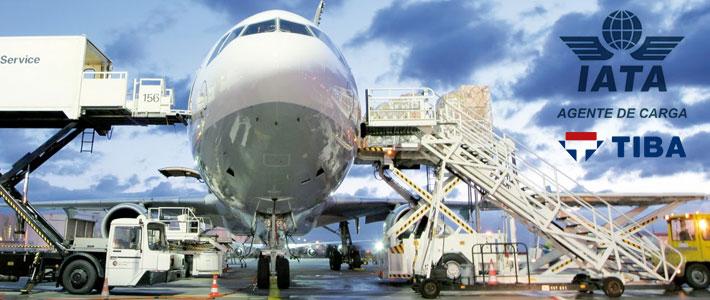 Transporte aéreo agente IATA
